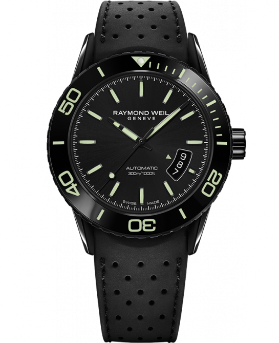 Raymond Weil Freelancer Automatic with Green Markers