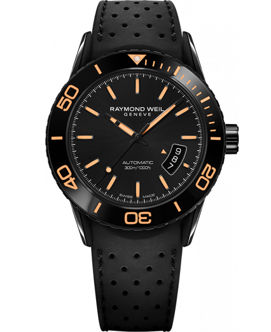 Raymond Weil Freelancer Automatic SPORT with Orange Markers