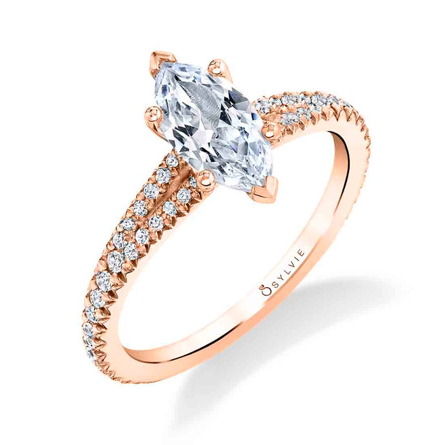 Marquise Engagement Ring S1700 - MQ - Chalmers Jewelers