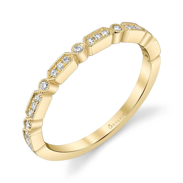 Sylvie Stackable Band - B0036 - Chalmers Jewelers