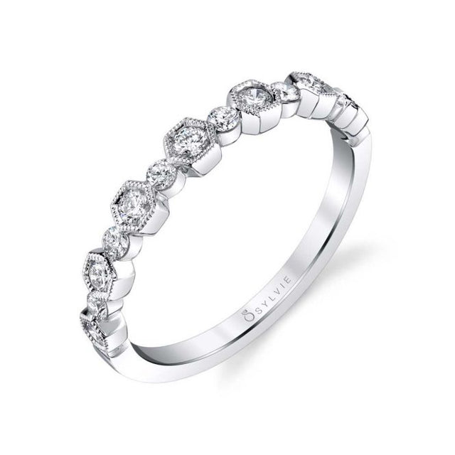 Sylvie Stackable Band - B0070 - Chalmers Jewelers