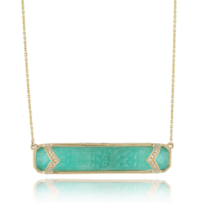 Amazonite Necklace - Chalmers Jewelers