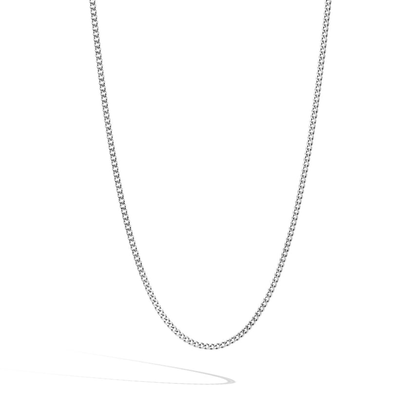 Classic Chain Curb Link Necklace