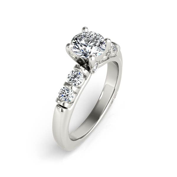 Solitaire Diamond Engagement Ring - Chalmers Jewelers