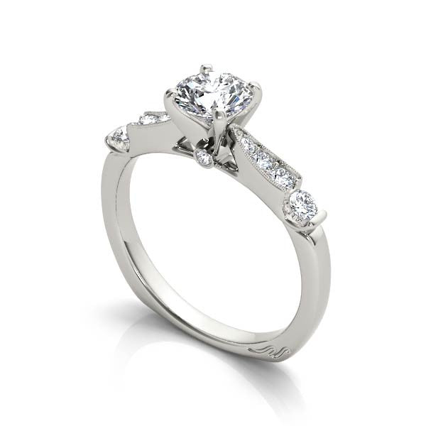 Classical Solitaire Engagement Ring