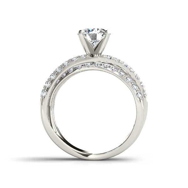 Diamond Underpass Engagement Ring