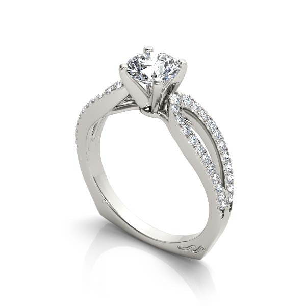 Solitaire Loop Engagement Ring