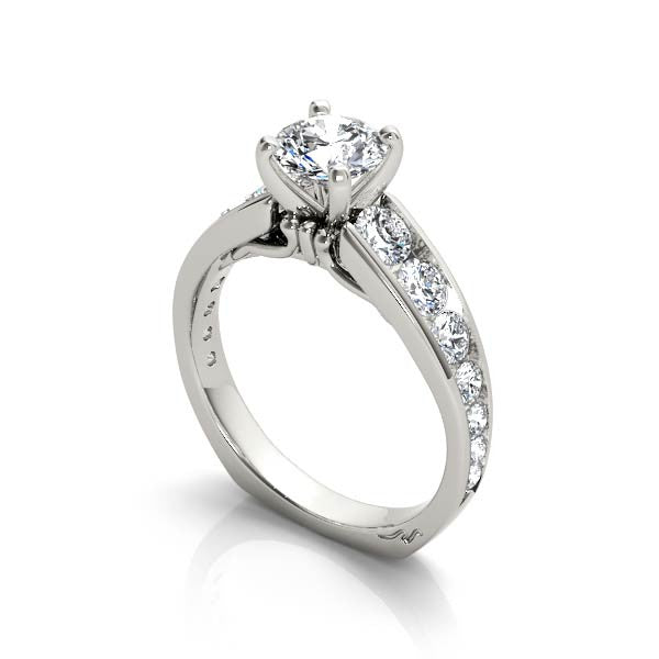Ascending Diamond Engagement Ring