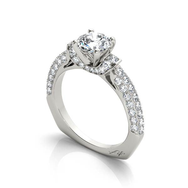 Hazelle Engagement Ring - Chalmers Jewelers