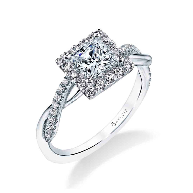 Princess Cut Engagement Ring S1724-PR - Chalmers Jewelers