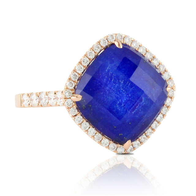 Royal Lapis Fashion Ring