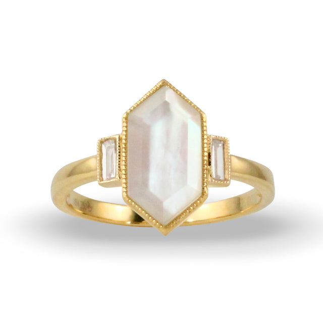 Mother of Pearl Ring - Chalmers Jewelers