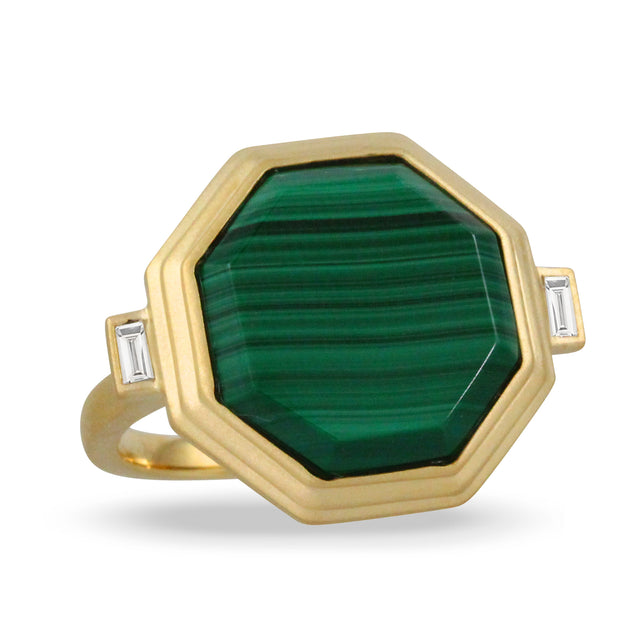 Malachite Ring - Chalmers Jewelers