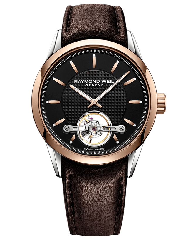 Freelancer Calibre RW1212 Rose Gold Automatic Watch 2780-SC5-20001 - Chalmers Jewelers