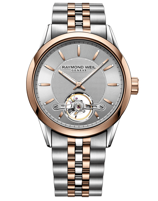 Freelancer Calibre RW1212 Gold Silver Automatic Watch 2780-STP-65001 - Chalmers Jewelers