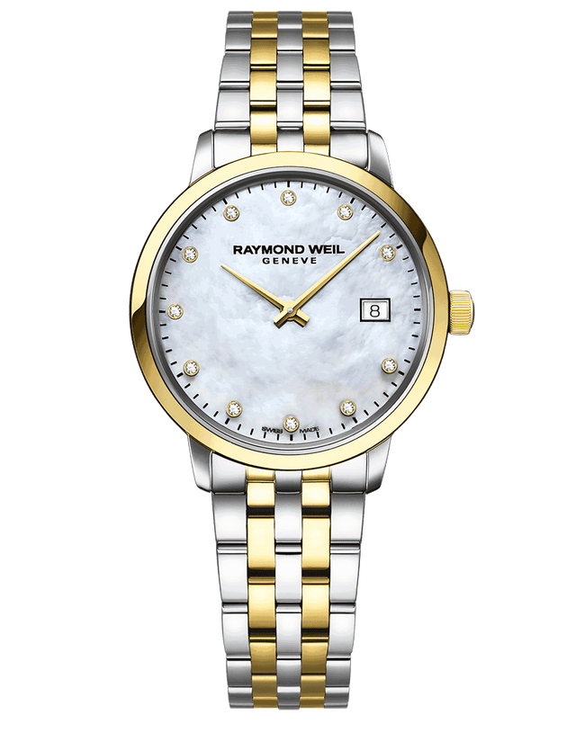 Toccata Ladies Two-tone Gold Diamond Quartz Watch 5985-STP-97081 - Chalmers Jewelers