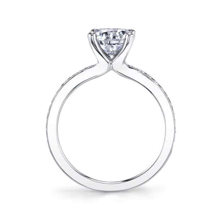 Solitaire Engagement Ring S1183 - Chalmers Jewelers