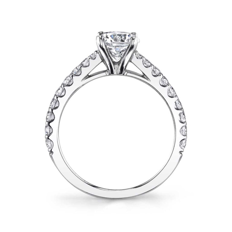 Classic Solitaire Engagement Ring S1362 - Chalmers Jewelers