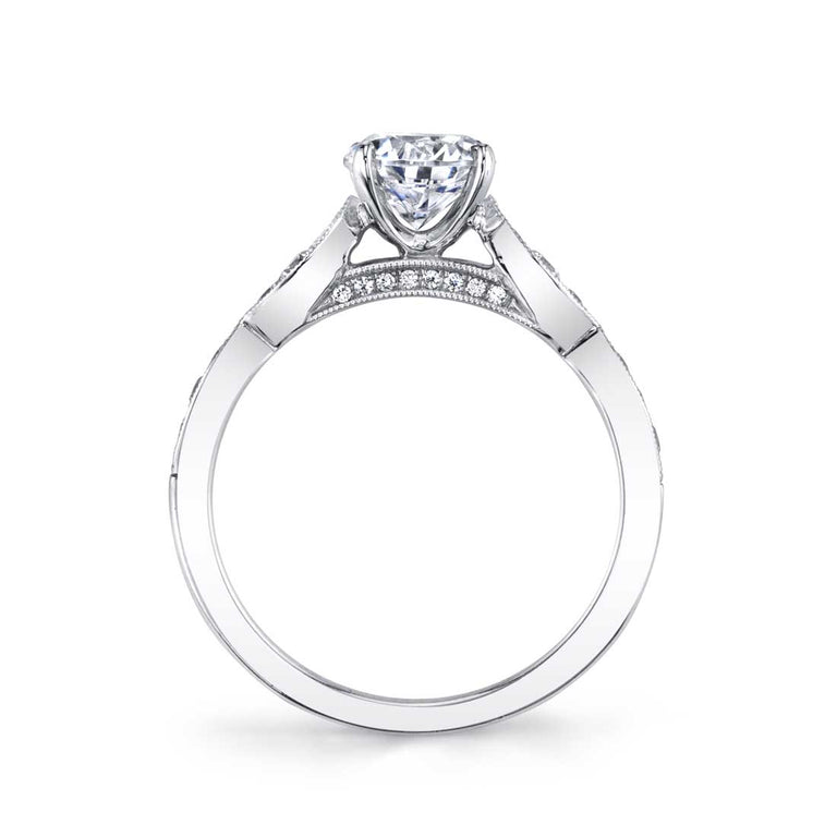 Stackable Engagement Ring S1404 - Chalmers Jewelers