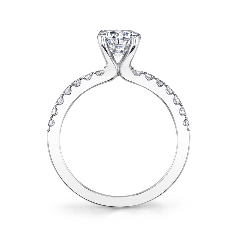 Classic Solitaire Engagement Ring S1498 - Chalmers Jewelers