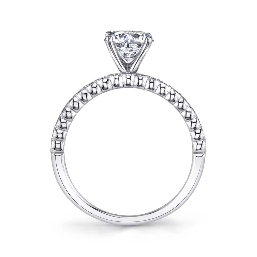 Modern Solitaire Engagement Ring S1510 - Chalmers Jewelers
