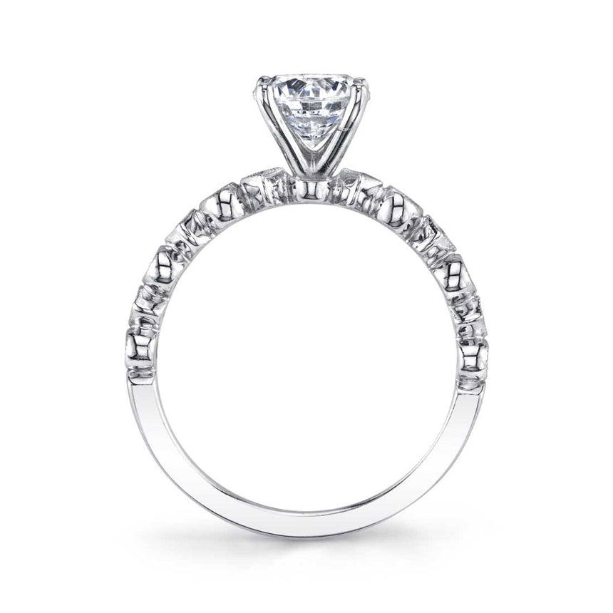 Round Solitaire Engagement Ring S1513 - Chalmers Jewelers