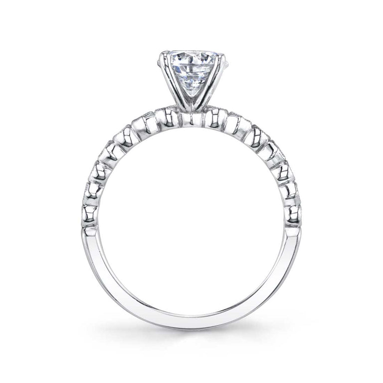 Round Solitaire Engagement Ring S1519 - Chalmers Jewelers
