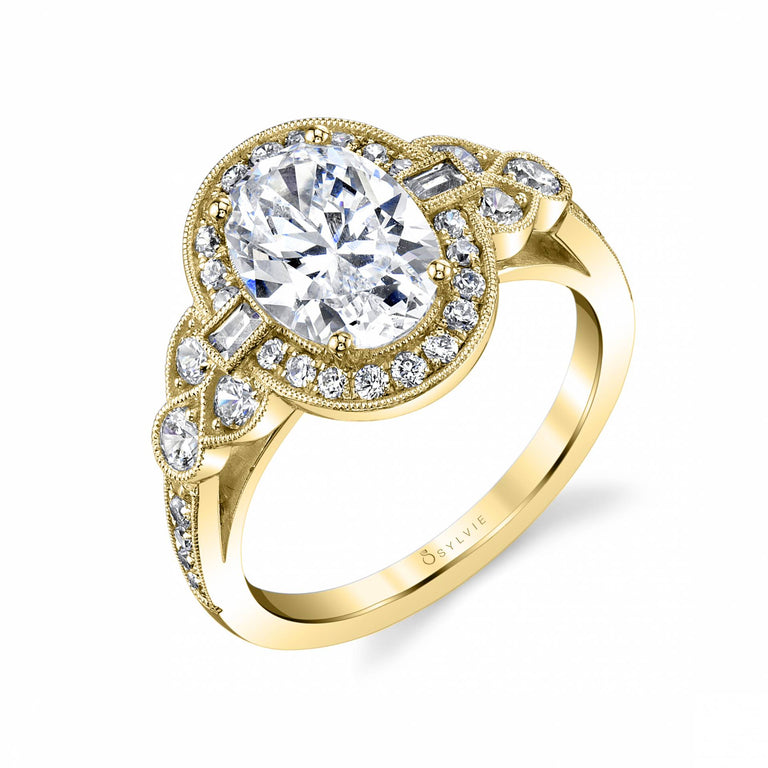 Oval Engagement Ring S1873 - Chalmers Jewelers