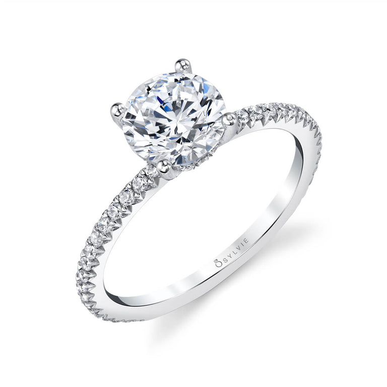 Solitaire Engagement Ring S2093-RB - Chalmers Jewelers