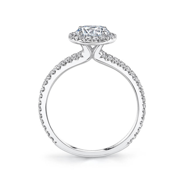 Split Shank Engagement Ring S2493 - Chalmers Jewelers