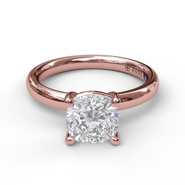 Classic Cushion Cut Solitaire 3051 - Chalmers Jewelers