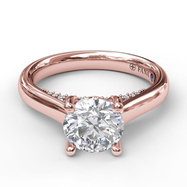 Love Forever Solitaire With Surprise Diamonds Engagement Ring 3404