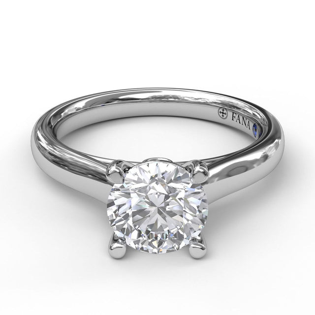 Classic Solitaire With Peek A Boo Diamond 3407