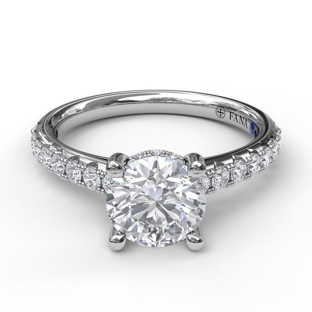 Timeless Single Row Engagement Ring 3410