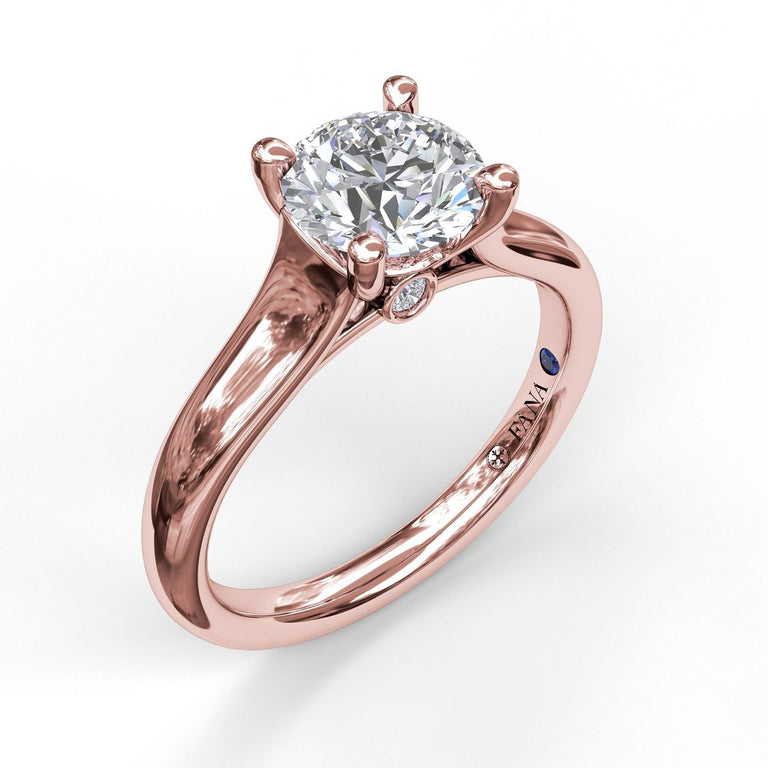 Designer Solitaire Engagement Ring 3621 - Chalmers Jewelers