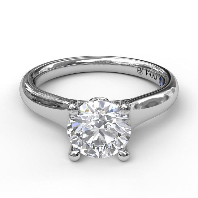 Designer Solitaire Engagement Ring 3621