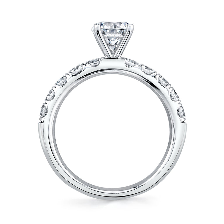 Solitaire Engagement Ring SBUP10-0070 - Chalmers Jewelers