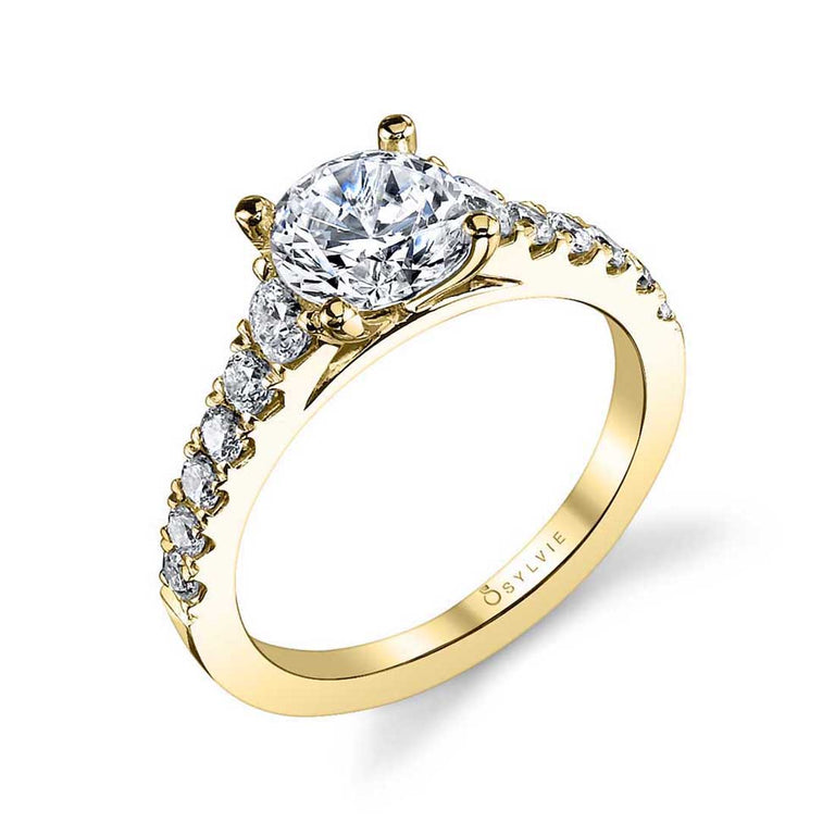 Classic Diamond Engagement Ring S1127 - Chalmers Jewelers