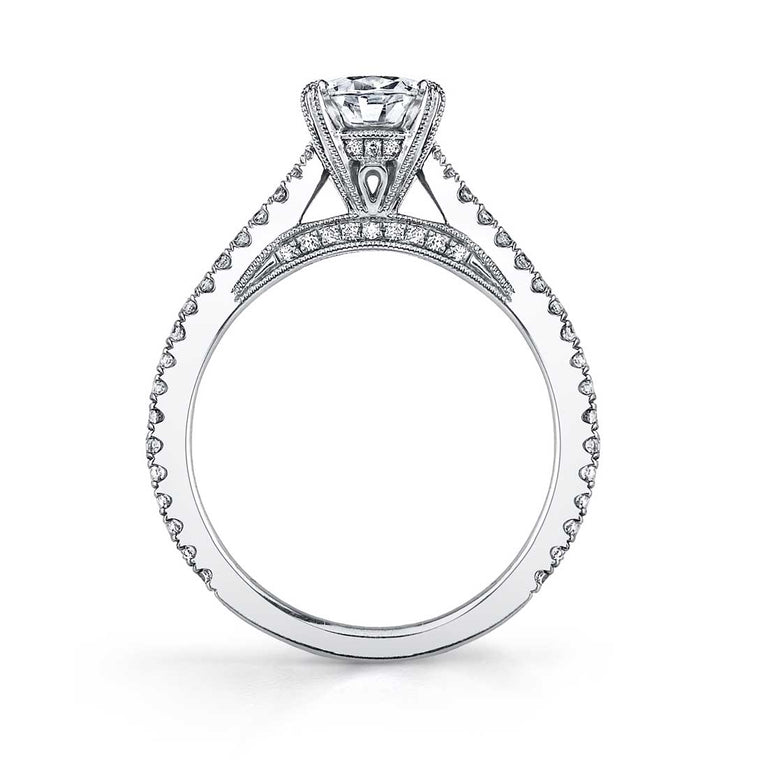 Round Solitaire Engagement Ring SY471 - Chalmers Jewelers