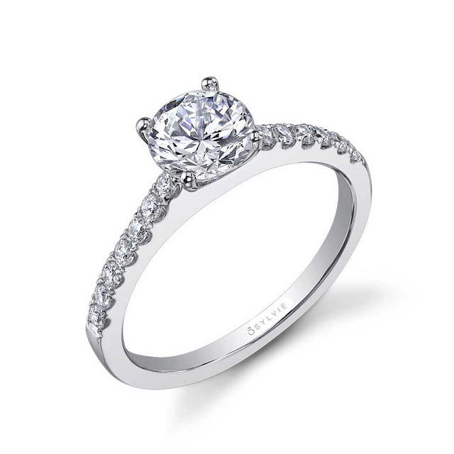 Classic Solitaire Engagement Ring SY750 - Chalmers Jewelers