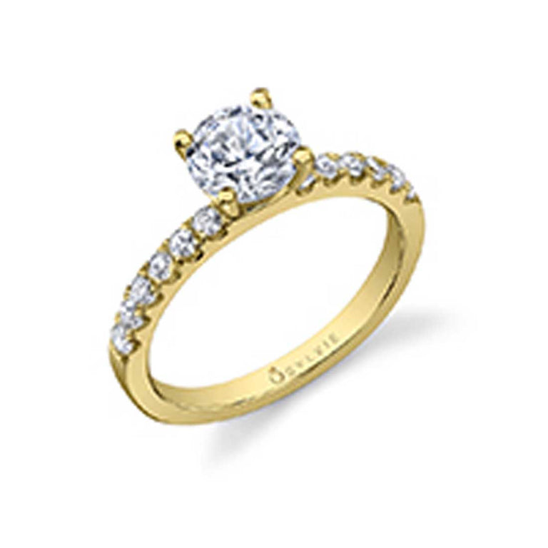 Round Solitaire Engagement Ring SY761 - Chalmers Jewelers