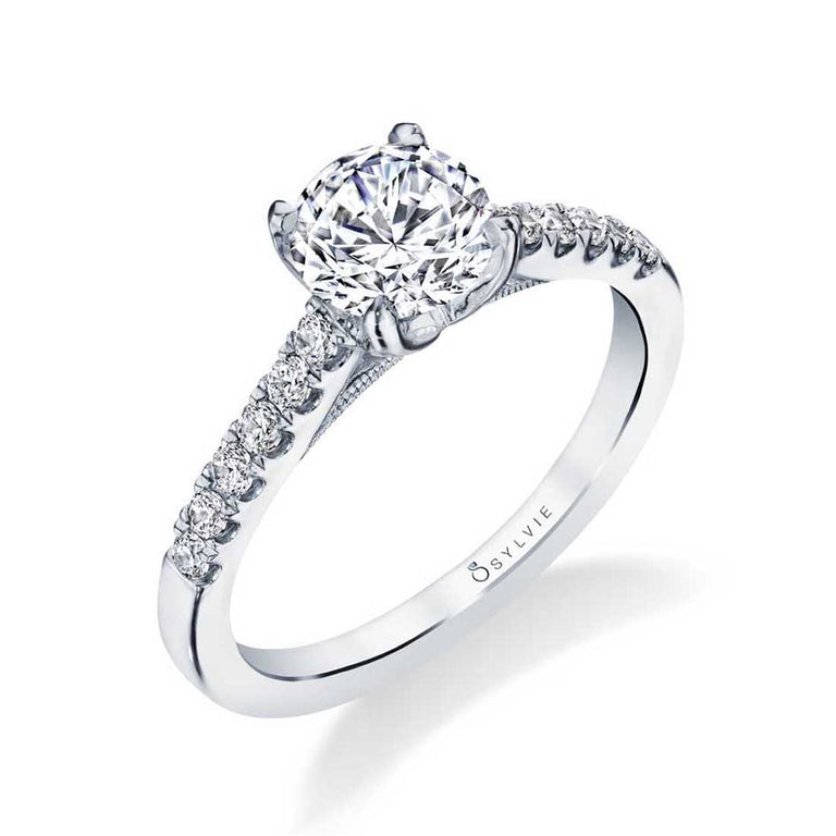 Classic Solitaire Engagement Ring S1743 - Chalmers Jewelers