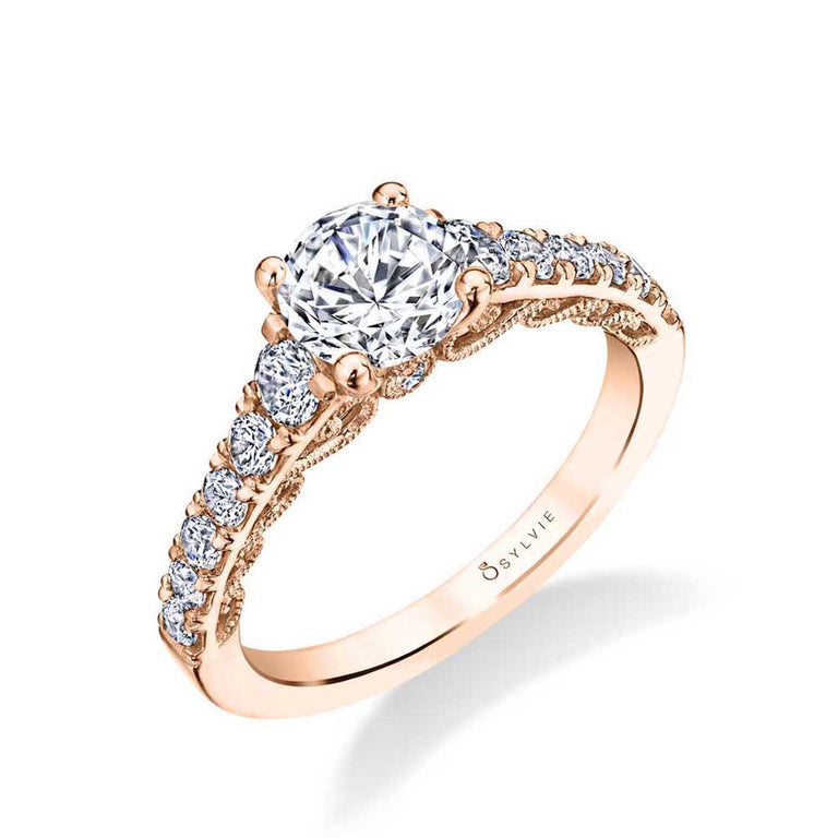 Lolita Vintage Inspired Solitaire Engagement Ring S1754 - Chalmers Jewelers