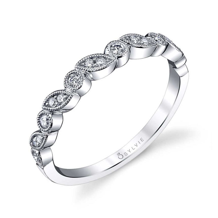 Sylvie Stackable Band - B0018 - Chalmers Jewelers