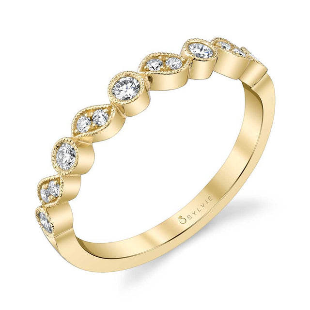 Sylvie Stackable Band - B0063 - Chalmers Jewelers