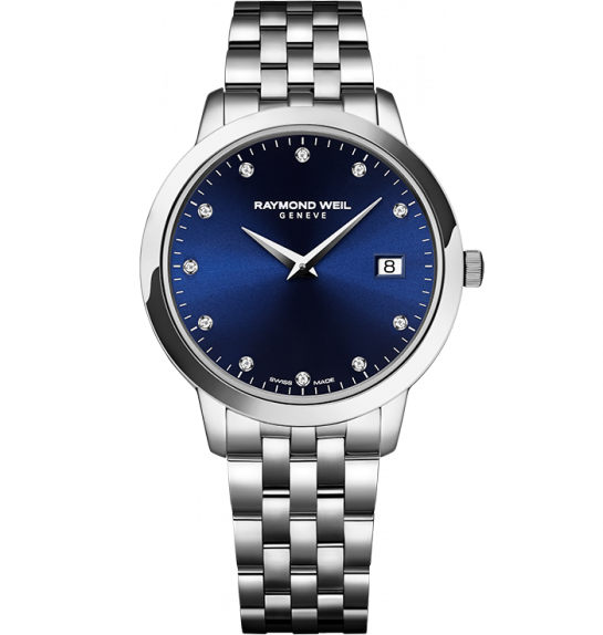 Raymond Weil Toccata with Blue Diamond Dial