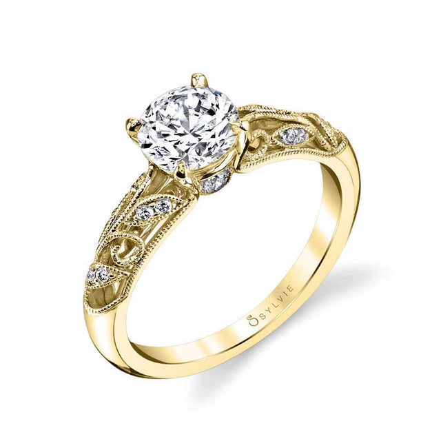 Vintage Engagement Ring S1392 - Chalmers Jewelers
