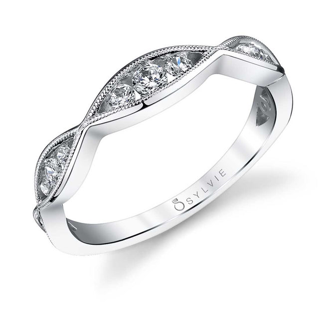 Vintage Inspired Wedding Band BS1014 - Chalmers Jewelers