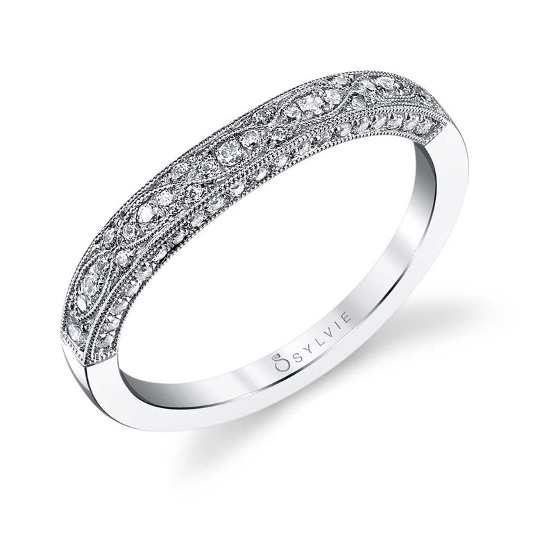 Vintage Inspired Wedding Band BS1132 - Chalmers Jewelers