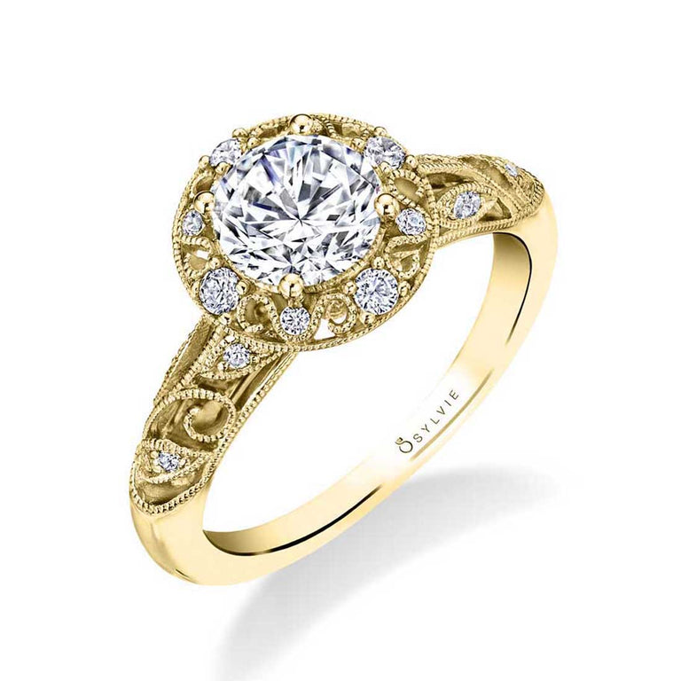 Vintage Engagement Ring S1748 - Chalmers Jewelers